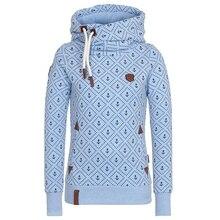 ФОТО harajuku hot style printed hooded sweatshirt european and american hooded jacket fleece fleece hoodies women sweatshirt