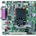 Placa base del pc industrial intel atom d525 de doble núcleo intel nm10 express soporta 9 puertos serie rs232 módulo ssd wifi 3g