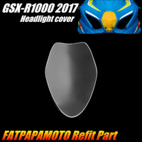 FOR SUZUKI GSXR1000 GSXR 1000 2017 Motorcycle Accessories Headlight Protection Guard Cover