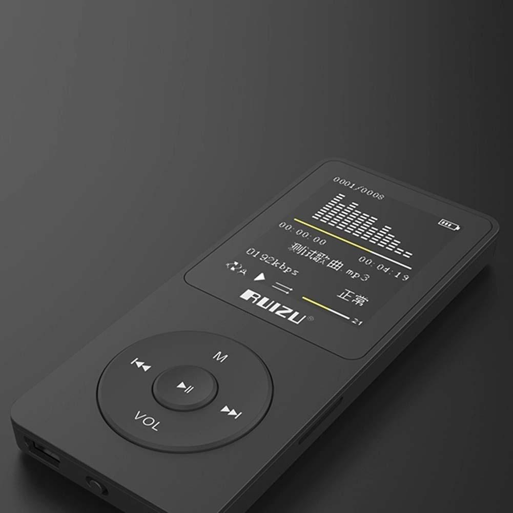 RUIZU Original 1.8 MP3 Player 4GB High Sound Quality Entry-level Lossless mini Music Player with FM Radio Voice Recorder E-book