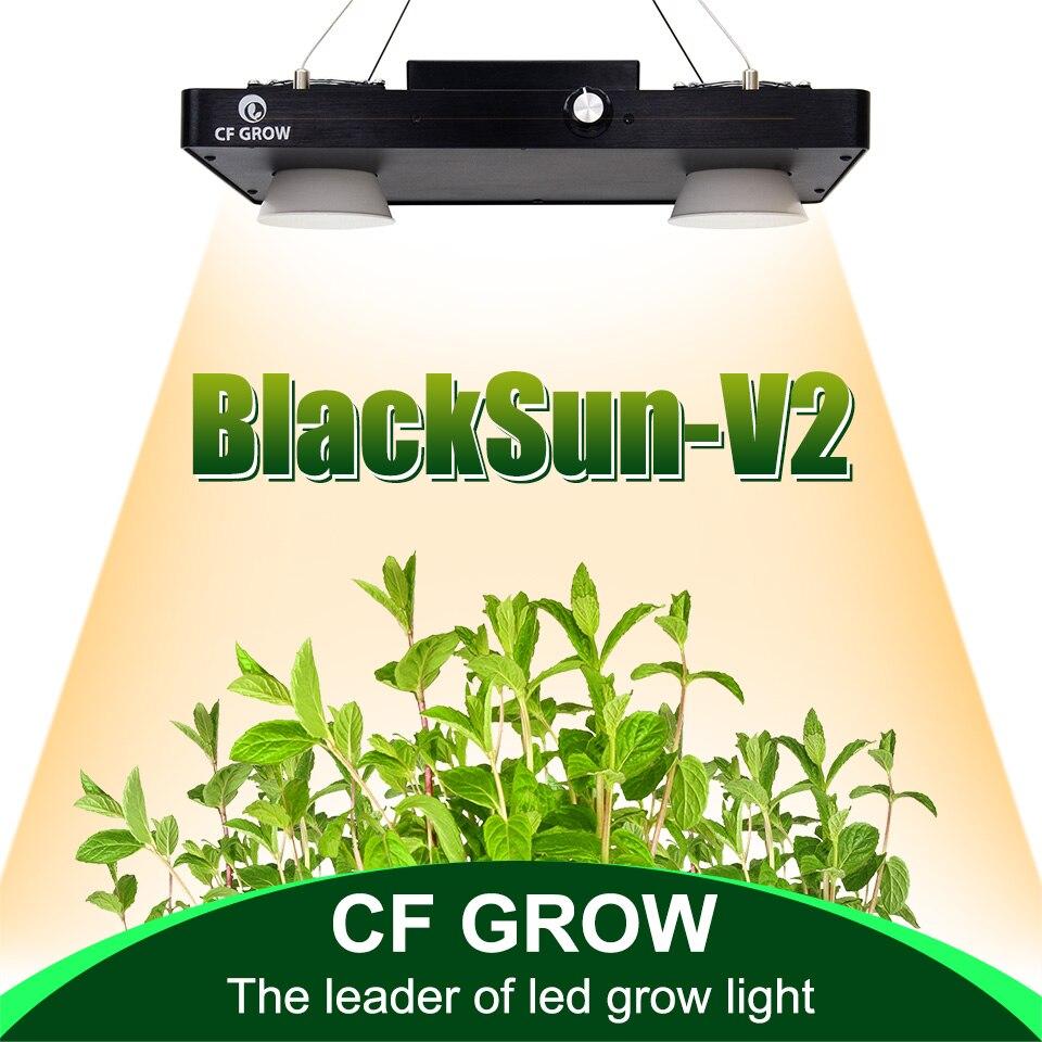 CF grandir Dimmable 200 W 400 W Ultra-mince COB LED grandir lumière LED à spectre complet panneau de croissance pour les plantes hydroponiques de serre intérieure