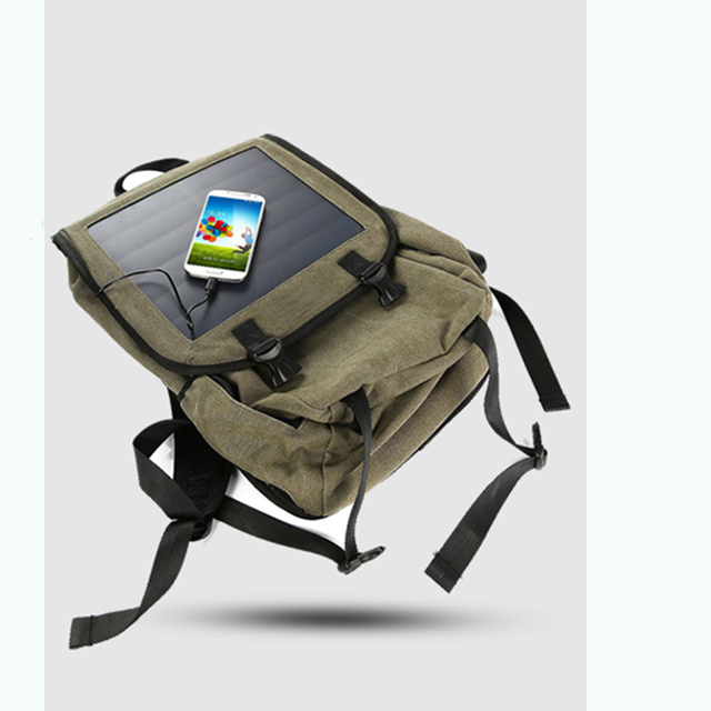 Multi-functional Solar Powered Charging Backpack  4
