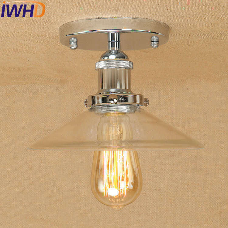 IWHD Loft Style Edison Industrial Vintage Ceiling Lamp Antique Iron Glass Ceiling Light Fixtures Indoor Lighting Lamparas iwhd loft style edison industrial led ceiling lamp antique iron glass vintage ceiling light fixtures home lighting luminaria