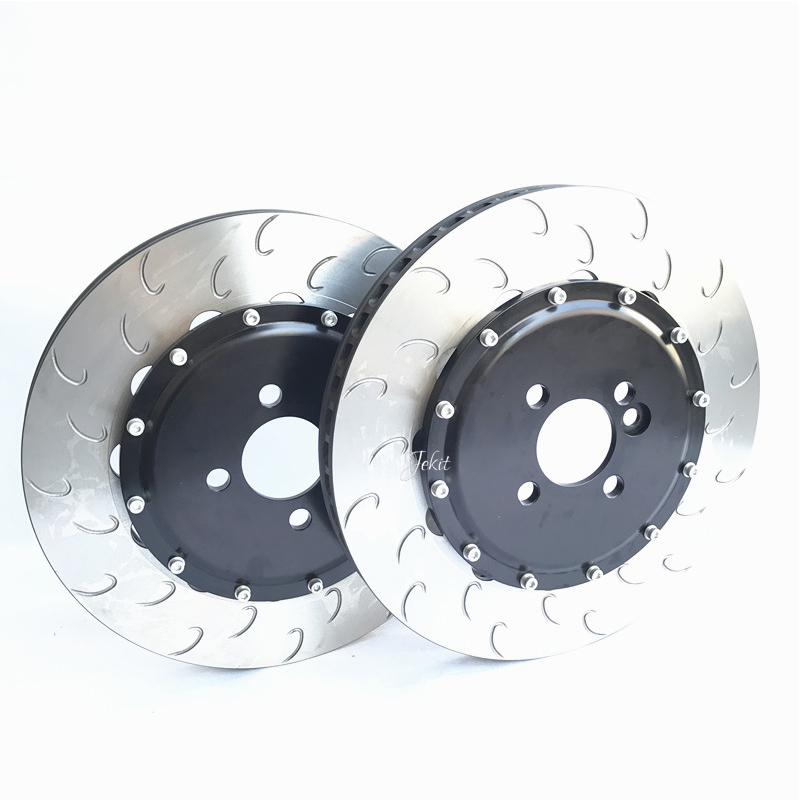 Jekit 355*32mm brake disc center hats centerbore 61mm PCD 4*100 for Honda EG6 front wheel brake kit