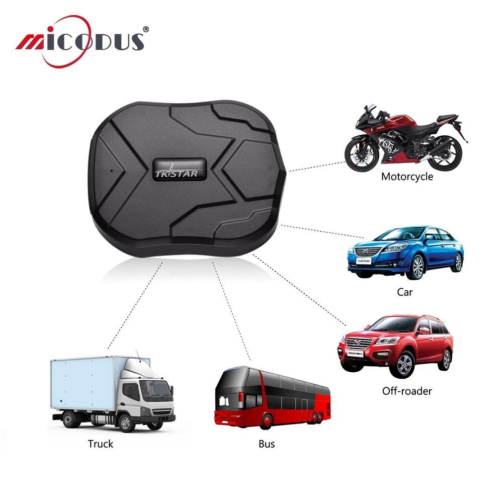 Véhicule GPS Tracker TKSTAR TK905 camion étanche dispositif de localisation de voiture 90 jours en veille aimant durée de vie gratuite APP piste Web