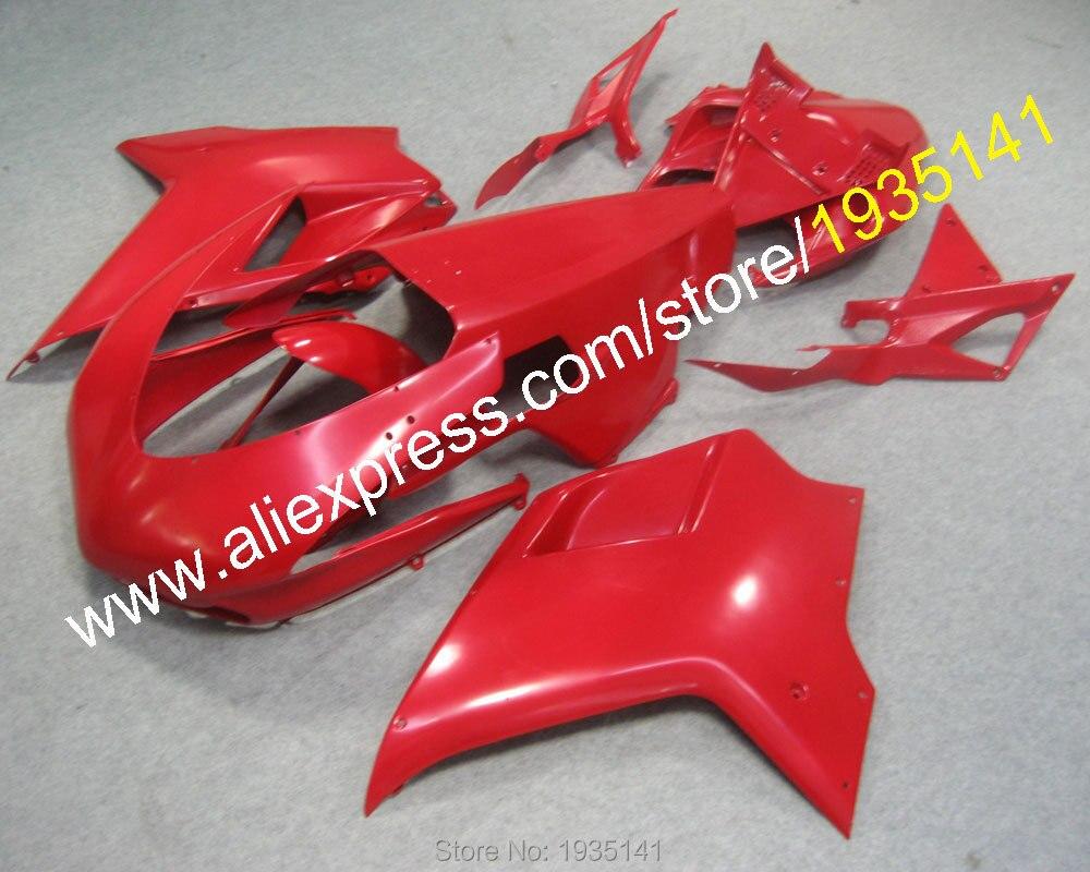 Горячие продаж,полный Красный коулинг Обтекатели для Ducati 1098S 848 1198 07 08 09 10 11 мотоцикл кузов Обтекателя Kit (литье под давлением)