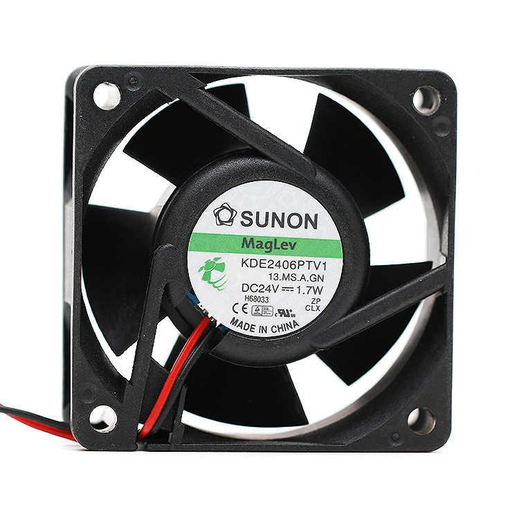 Nowość W przypadku wentylatora częstotliwości Sunon 6025 KDE2406PTV1 24V 1.7W