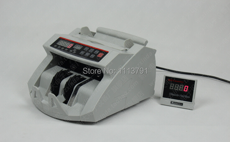 Multi currency Detector cash counter EUR USD GBP HKD JPY CHF AUD worldwide currency counter 110V ...