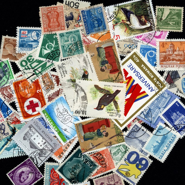 1000 шт./лот много все разные Pot марки с pots марки в хорошем состоянии для сбора timbri штемпель