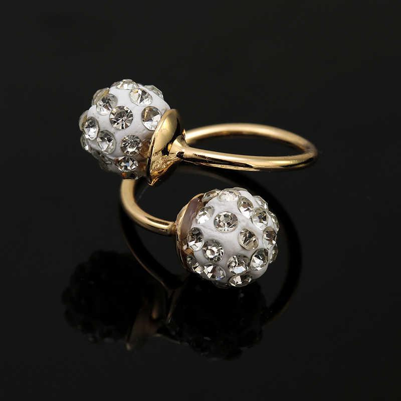ZuoDi Thời Trang Woamn Wedding Party Vàng Màu Bộ Đồ Trang Sức Mặt Dây Chuyền Jewelry Sets Đối Bride Necklace & Earrings & Bracelet & vòng