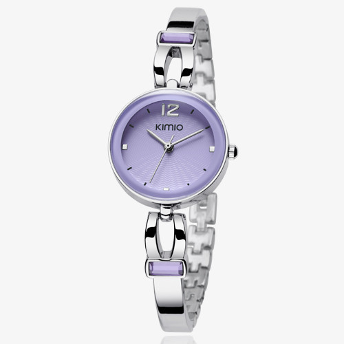100% kimio top brand luxury quartz-watch stainless steel ladies Analog bracelet