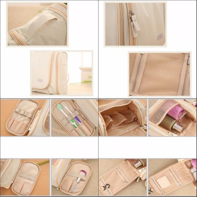 JXSLTC Marka Seyahat Organizatör Çantası Unisex Kadın Kozmetik - Evdeki Organizasyon ve Depolama - Fotoğraf 6