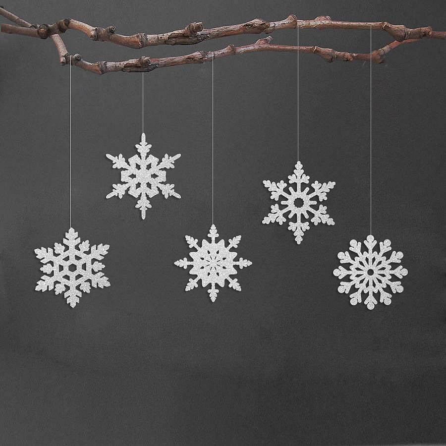 by decor white decorations personalised set christmas product original snowflake naturalgiftstore natural