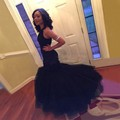 Black Prom Dresses For weddings 2017 Mermaid Evening Gowns Robe De Soiree Sexy Backless Pearls Pageant Party Dresses WH78