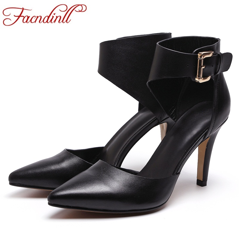 FACNDINLL women spring summer shoes sexy pumps super high heels party wedding shoes fashion pointed toe thin high female sandals new 2017 spring summer women shoes pointed toe high quality brand fashion womens flats ladies plus size 41 sweet flock t179