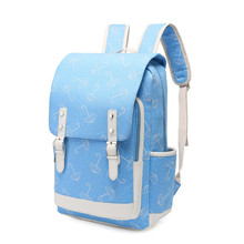 цены на Women Backpacks printing Backpack Preppy Style school backpack For Teenage Girls laptop bags School Bags Travel Rucksack Mochila  в интернет-магазинах
