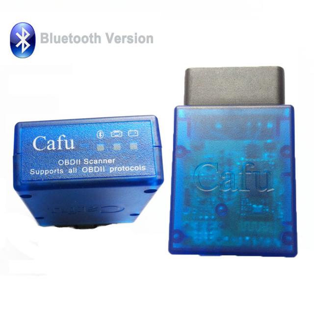 OBD2/OBD Cafú ELM327 Bluetooth V1.5 Interfaz de Diagnóstico Del Coche Del Escáner Funciona En Android Torque