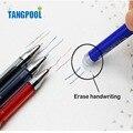 6pcs/lot 3 Color Unisex Erasable Pen Set 15 pcs/lot Black, Blue Refill Erasable Gel Ink Pen Office School Supplies Free Shipping