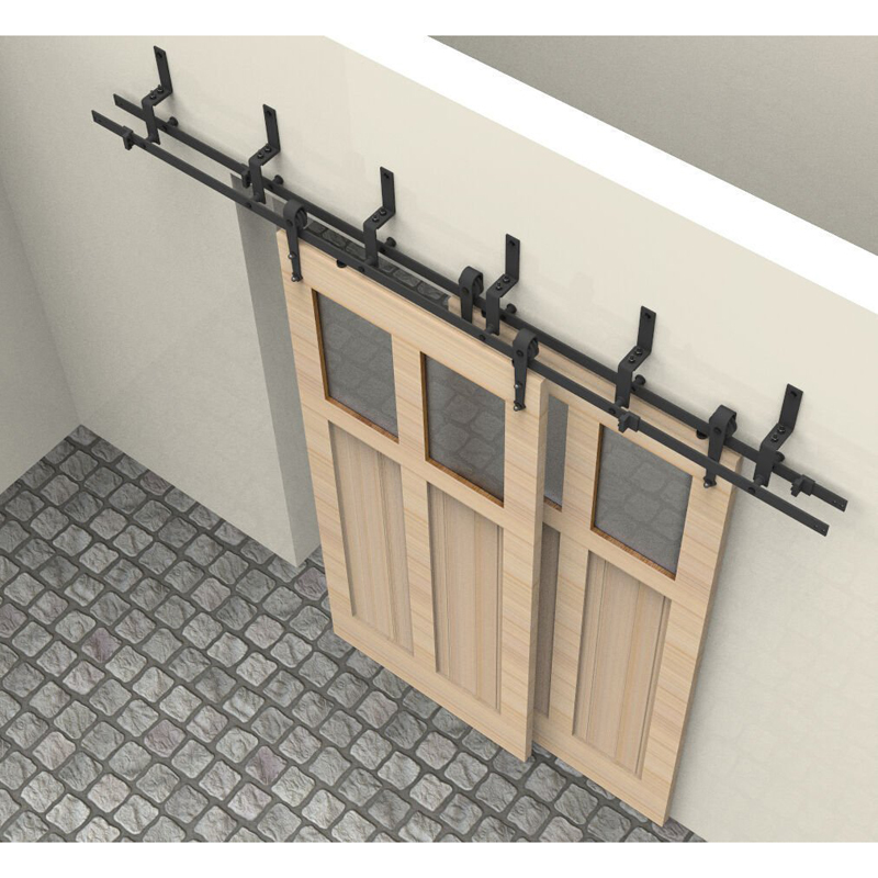 5ft 6ft 6 6ft 7 5ft 8ft 10ft arrow black bypass rustic for Six foot sliding glass door