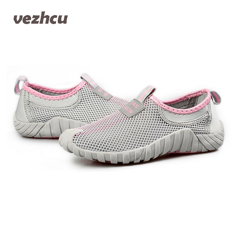 VZEHCU Hot Women shoes Breathable Loafers Summer Flats Creepers Sandals Woman espadrilles  Slip On Flats Plus Size 35-40 P5d43 2017 summe breathable women shoes lace loafers summer wedges hide heel casual shoes creepers platform shoes woman slip on flats