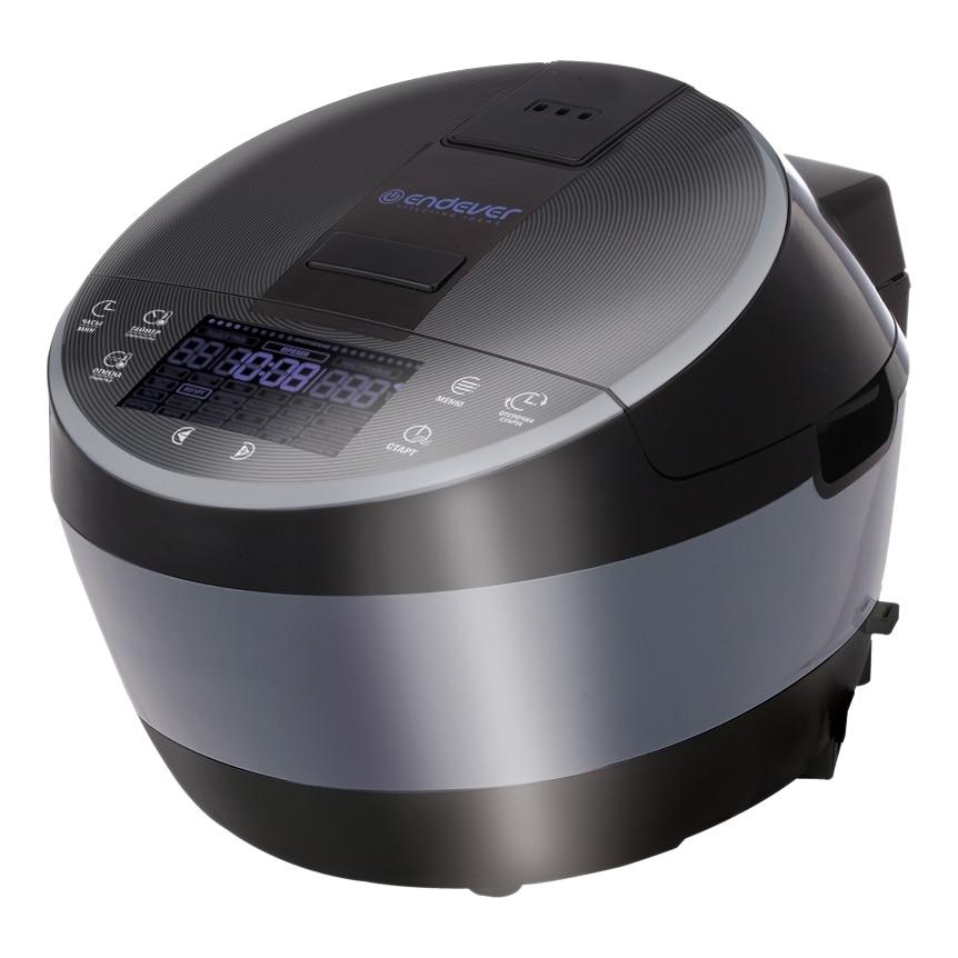 Мультиварка Endever Vita 100 (Мощность 1300 Вт, ЖК-дисплей, таймер отложенного запуска, сенсорное управление, 24 программы готовки, чаша 5 л.)