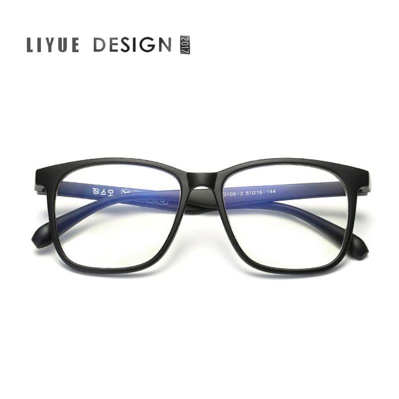 classic retro clear lens men eyeglasses women myopia designer optical eyewear frame myopia prescription optic glasses