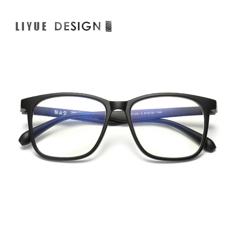 classic retro clear lens men eyeglasses women myopia designer optical eyewear frame myopia prescription optic glasses