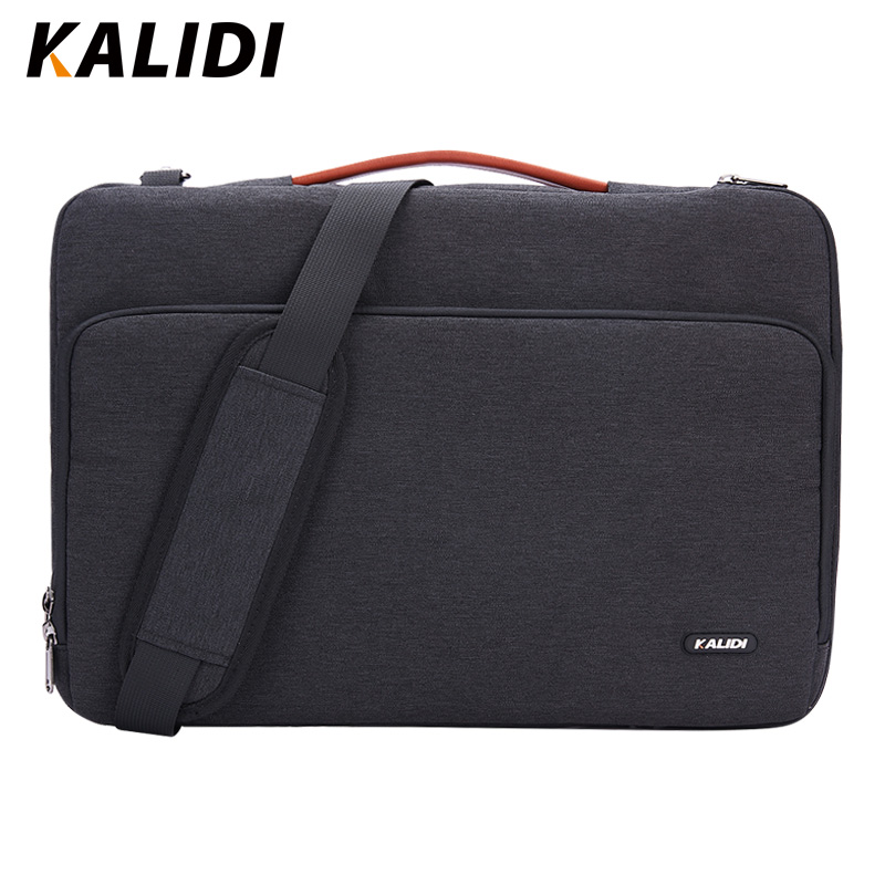 KALIDI Laptop Bag Sleeve 11 12 13.3 15.6 17 Inch Waterproof Notebook Bag For Macbook Air Pro 11 13 15 Computer Bag For Women Men(China)