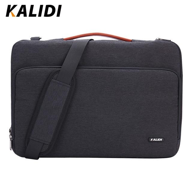 Pochette d'ordinateur KALIDI 11 12 13.3 15.6 17 pouces sac étanche pour ordinateur portable pour Macbook Air Pro 11 13 15 sac d'ordinateur pour femmes hommes