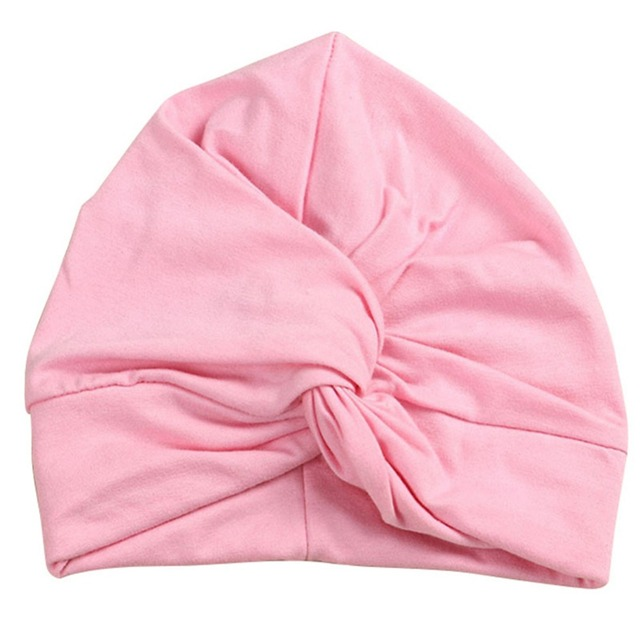 Bohemian Style Cute Baby Soft Turban Knot Cotton Hat