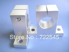 50 mm Linear Rail Support Shaft Support CNC Router SK50 2pcs lot sk35 35mm linear rail shaft guide support cnc brand new