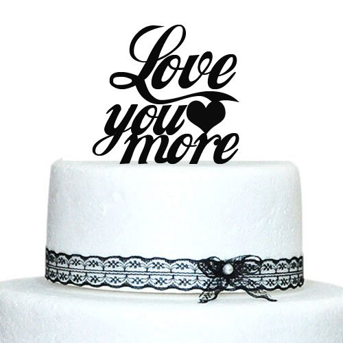 """Wedding Cake Toppers Quotes: Customized 6""""Acrylic Wedding Cake Toppers Personalized"""