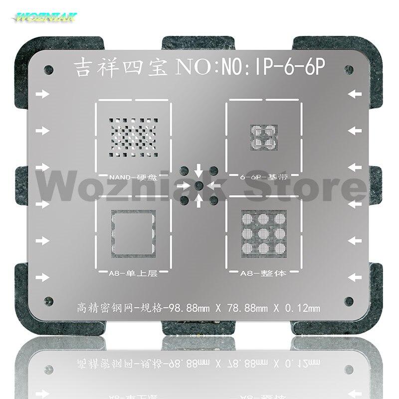Wozniak WL NAND CPU Chip BGA Reball ón növényi acél Net Tin Mesh - Szerszámkészletek - Fénykép 2