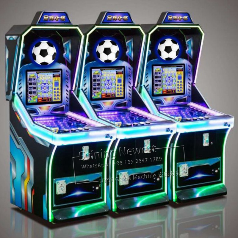 NYST Suining 2019 Newest Design Africa Amusement Park Equipment Football Token Coin Operated Arcade Games Pinball Machine image