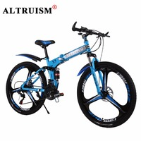 Altruism X9 Pro Bicycles Steel 21 Speed 26 Inch Mountain Bike Double Disc Brake Men Women