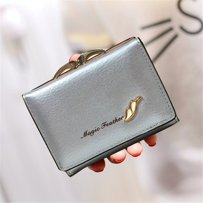 Fashion <font><b>set</b></font> auger <font><b>flower</b></font> Women Wallets Purses Lady card <font><b>holder</b></font> Female Clutch hasp 3 fold short wallet coin purse organization