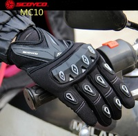 2016 New Spring Summer Authentic Scoyco MC 10 Full Finger Motorcycle Gloves Motorbike Electric Bicycle Gloves
