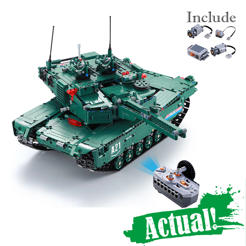 61001 1498Pcs Military Weapon Series The M1A2 RC Tank Model Building Blocks Bricks Educational Toys For children Christmas Gifts the rise of tomb raider laurahand model children model toys robot children gifts christmas gifts