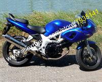 Hot sprzedaż dla suzuki sv650 sv400 98 99 00 01 02 sv sv 400 650 1998-2002 niebieski abs motocykl fairing zestaw nadwozie aftermarket