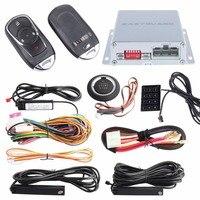 Original PKE Car Alarm System Passive Entry Keyless Kit Remote Engine Start Stop Push Button Start
