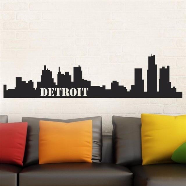 zn t05080 children s room wall stickers mural detroit skyline easy
