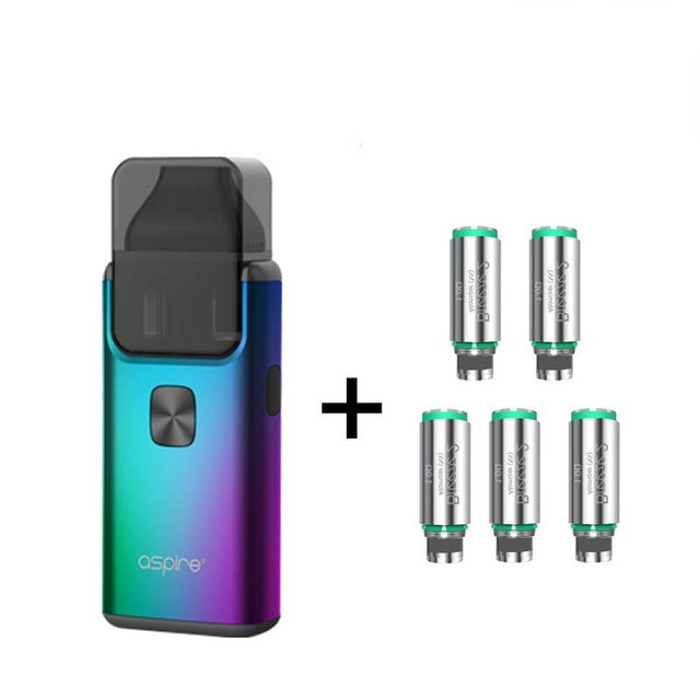 US $31 0 20% OFF|Original Aspire Breeze 2 AIO Kit Built in 1000mAh Battery  with 2ml/3ml Tank Atomizer newest Electronic Cigarette Vape Kit-in