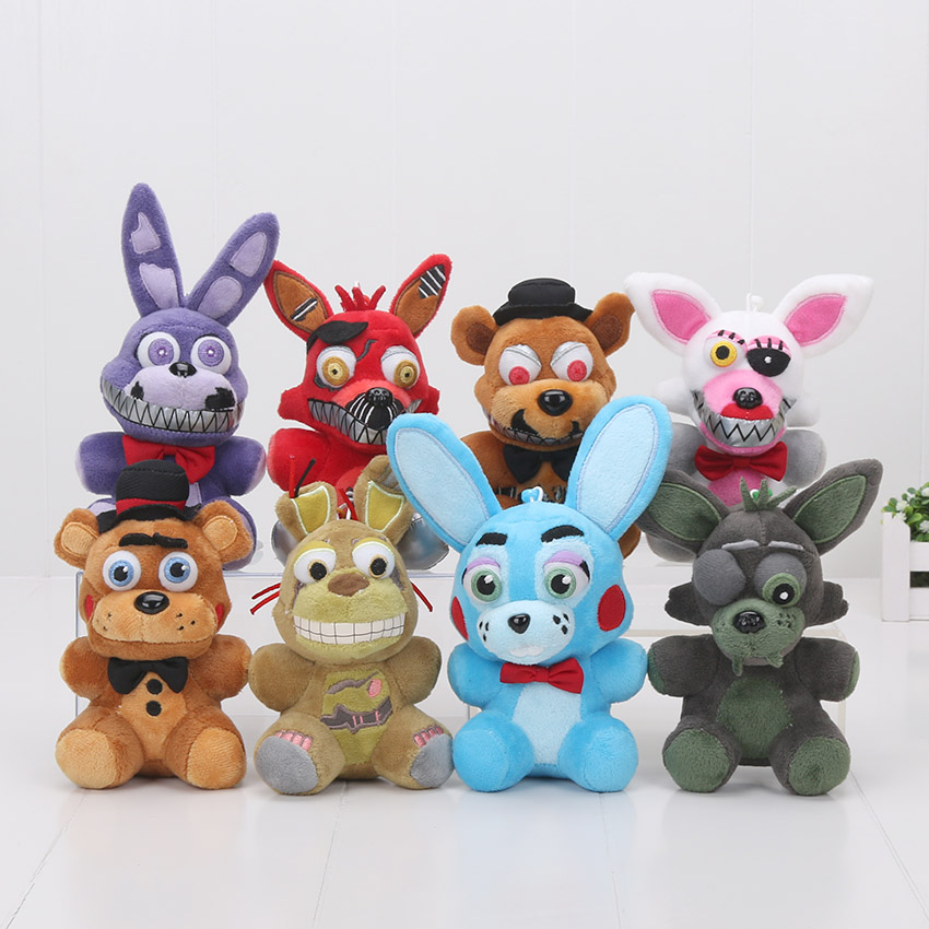 14cm FNAF Five Nights At Freddy's Freddy Fazbear Bear Foxy