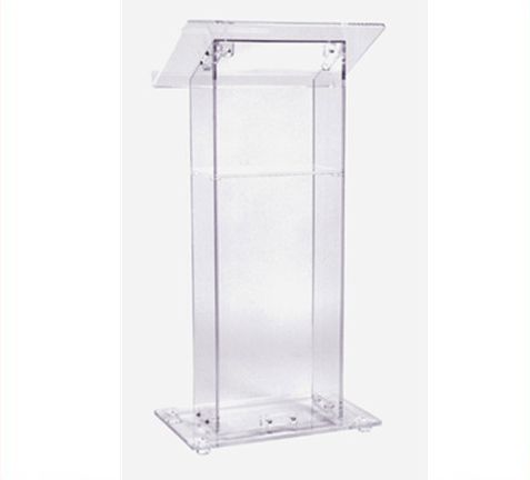 Acrylic Lectern Acrylic Church Podium Hot Sell Pulpit Stand Acrylic Podium