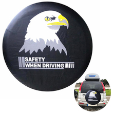 Safety When Driving Spare Wheel Cover 14