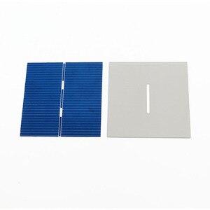 Image 4 - 0.43Watt 52X52mm Celle Solari FAI DA TE Pannello Solare Modulo Fotovoltaico Policristallino Solare FAI DA TE Caricabatteria Painel Solare