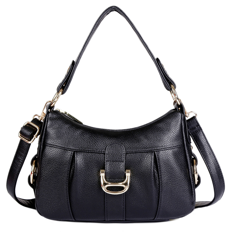 ФОТО Women's Totes Handbags Genuine Leather Women Shoulder Bags High Capacity Crossbody Totes Female Messenger Bags Bolsas Femininas