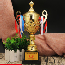 trophy custom hot sale metal Football trophy wholesale dance gold trophy cheap custom sports medal trophies add logo tortuous star shaped metal trophy customized logo or words to crystal base video music awards grammy trophy for award ceremony