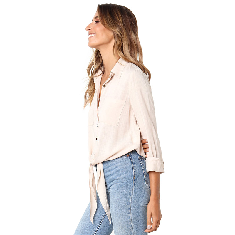 Apricot-Crushed-Linen-Button-Down-Casual-Shirt-LC251116-18-2
