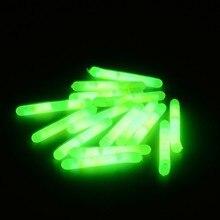 Wholesale 100pack/500pcs 4.5*37mm Night Fishing Luminous Float Fluorescent Light Stick Rod LightsDark Glow Stick Lightstick L237